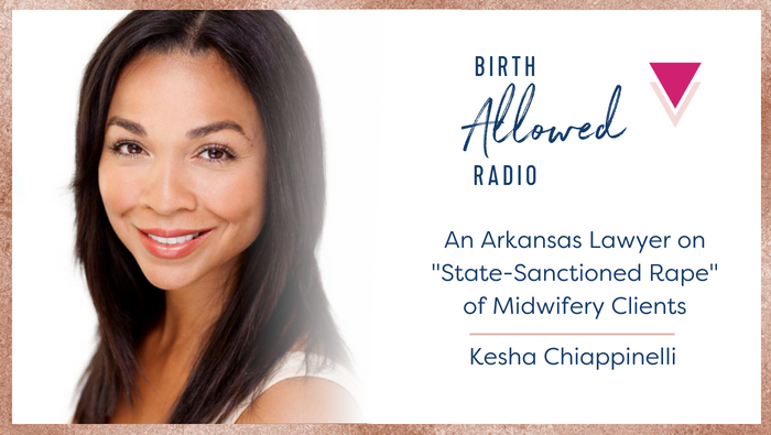 "Ep. 12 – A Lawyer on ""State-Sanctioned Rape"" of Arkansas Midwifery Clients"